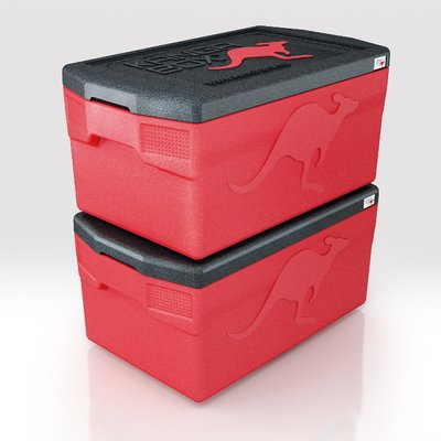 Thermobox 46 Liter - Kängabox Comfort GN1/1  Thermobehälter aus EPP